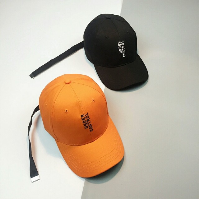 'Under Control' Baseball Caps Long Strap