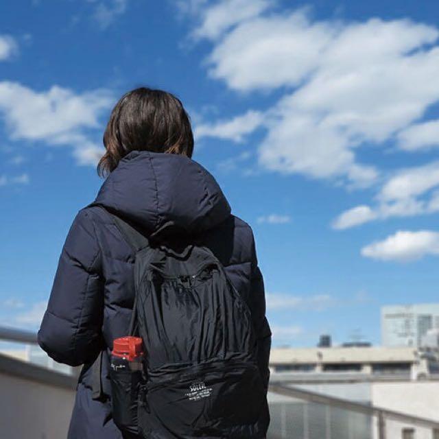 全新日本輕便摺疊背包像Uniqlo一樣可以折疊在小包內