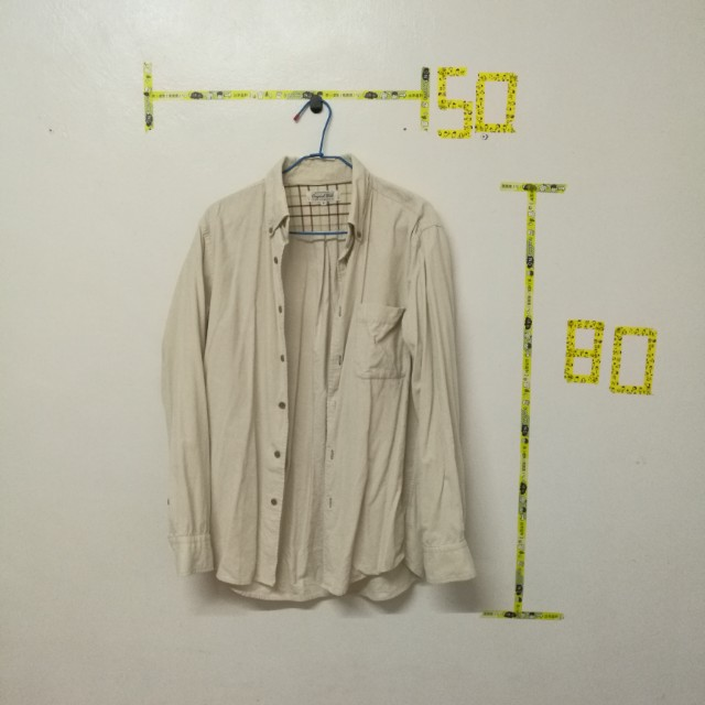 UNIQLO 燈芯絨襯衫外套
