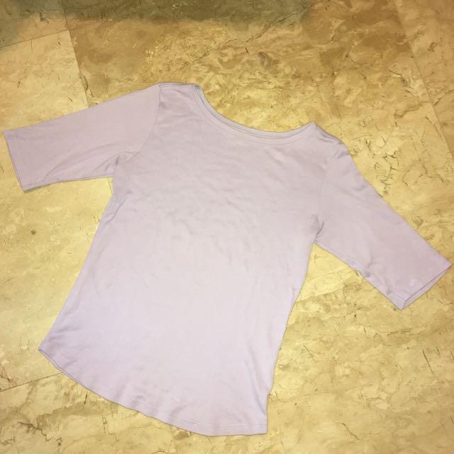 Uniqlo Purple