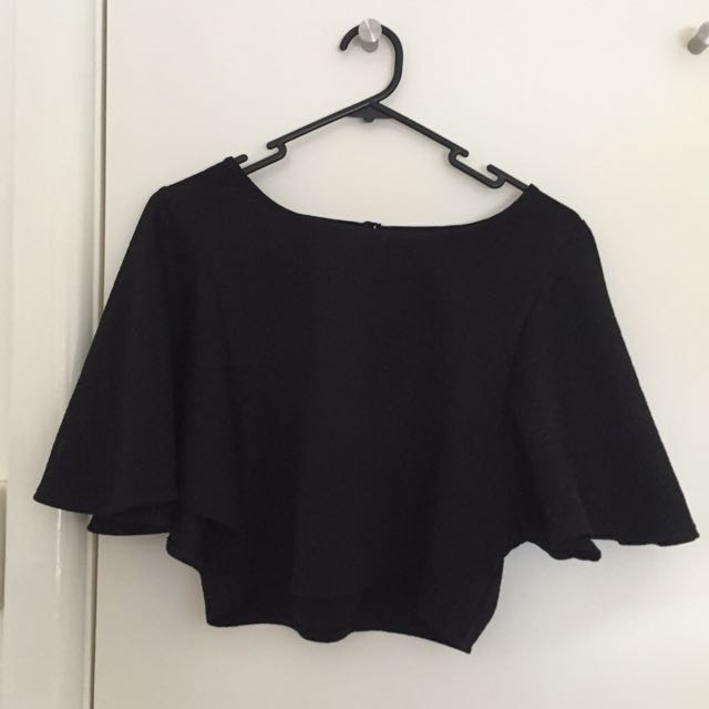 Urban Outfitters Cape Style Top Size XS
