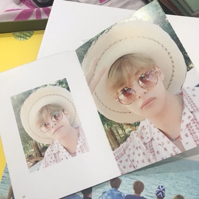 V Selca Book: Summer Package Coron Palawan Vol.3 2017