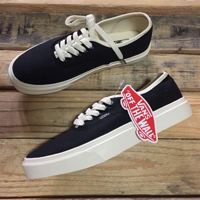 Vans Black Bone Men S Fashion Footwear On Carousell
