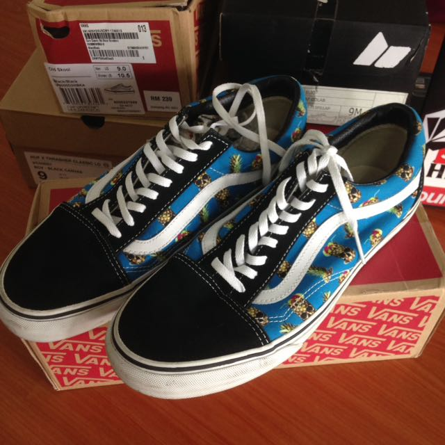 cf3017e9b2 Vans Old Skool Skull Pineapple