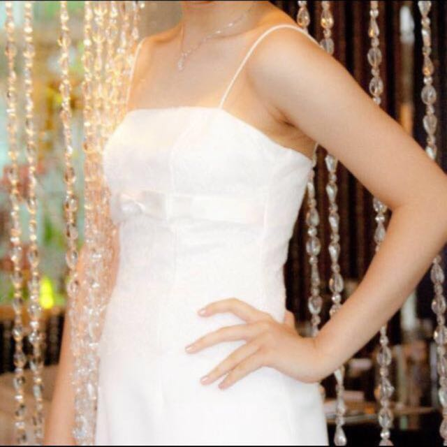 White Party Gown