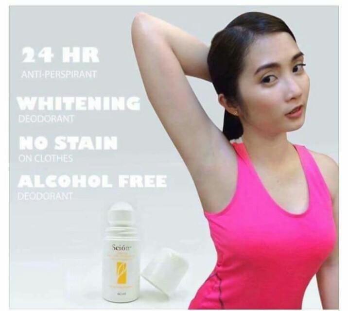 Whitening deo