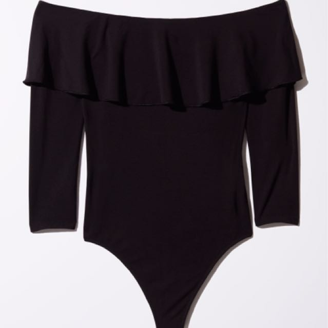 Wilfred Bodysuit in Black