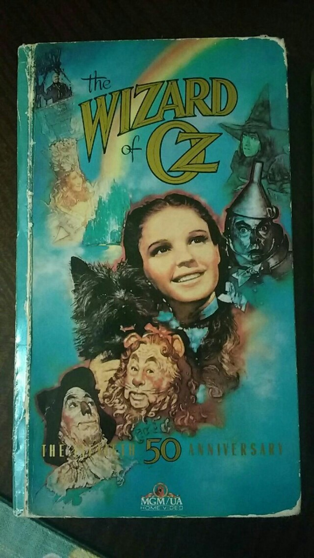Wizard of Oz VHS' Collectable