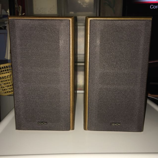 Wts Denon Bookshelf Speakers USC M10 Electronics Audio On Carousell