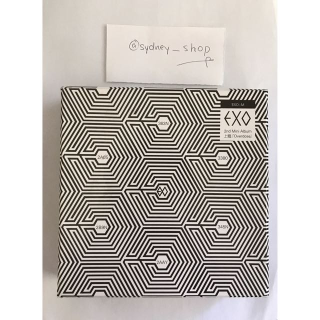 WTS EXO Overdose Chinese Version