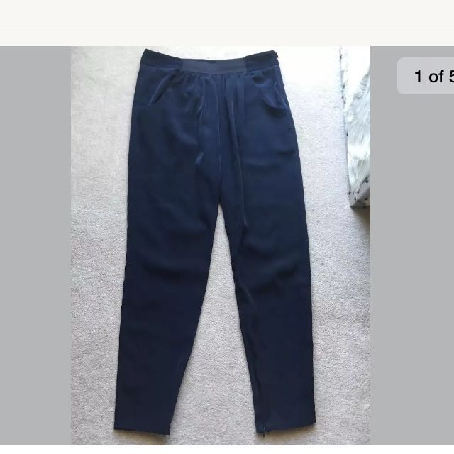 Zara Navy Blue Pants
