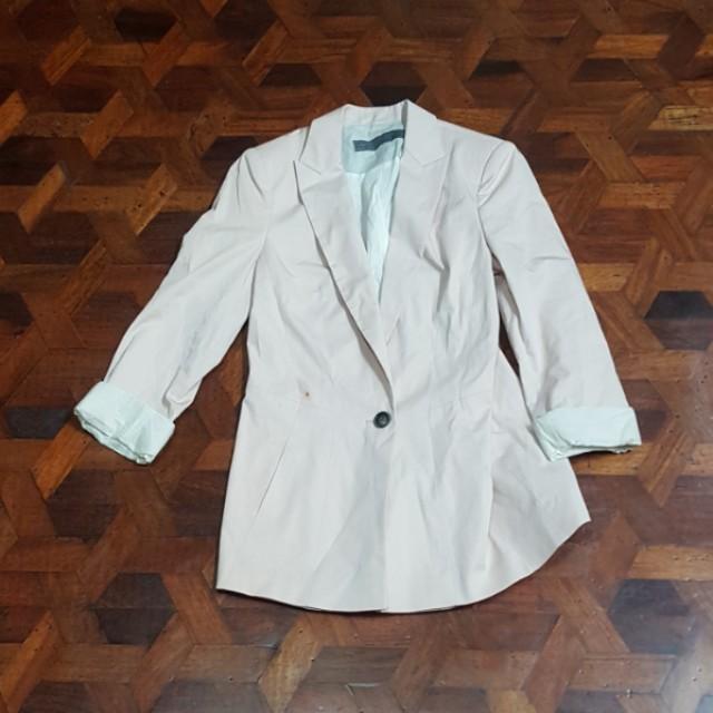 Zara pink blazer (M)