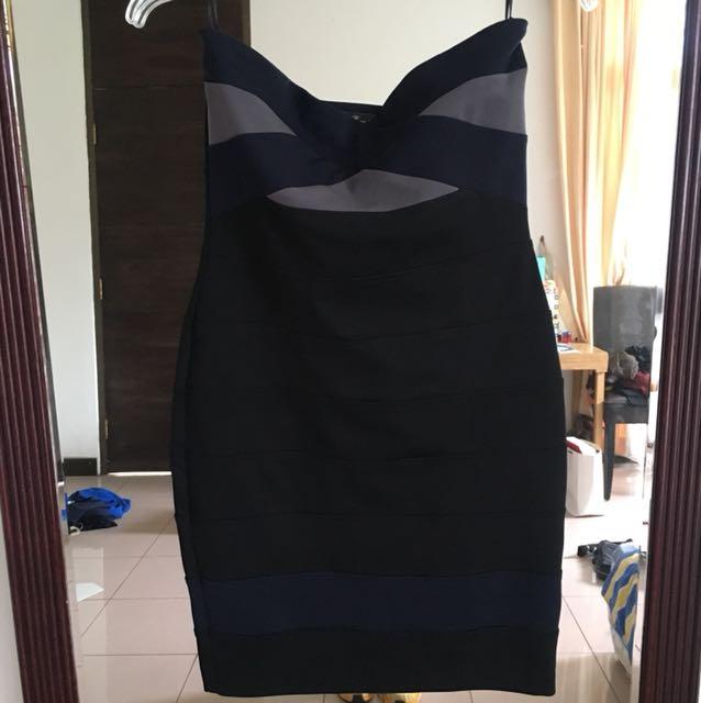 Zara Stretch Bodycon Tube Dress
