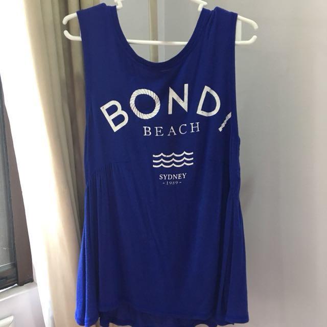 Zara TRF Bondi Beach Long Tee / Dress
