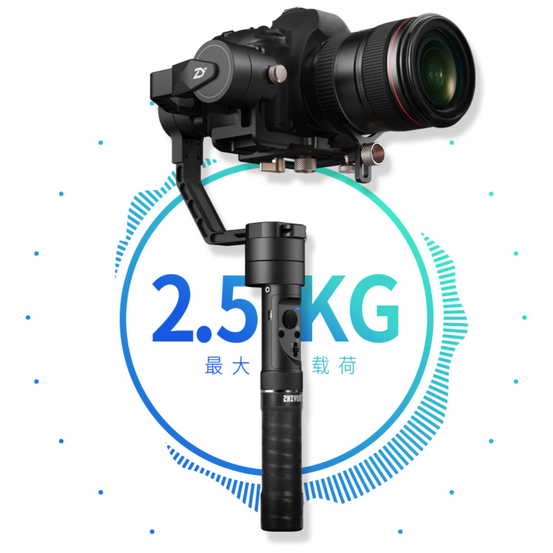 Zhiyun Crane-Plus 3-Axis Handheld Gimbal Stabilizer + free ZW-B02 remote (NEW!!) (Limited stock) (limited time)