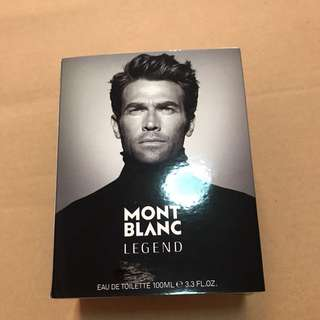 100% authentic and brand new Mont Blanc Legend (cologne/ perfume for men)