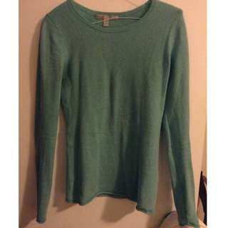 Light blue wool sweater-Size S