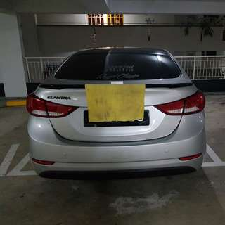 Hyundai elantra md tail lamp