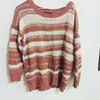 條紋毛衣 #冬季衣櫃出清