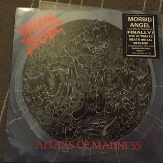 Morbid Angel - Altars Of Madness (LP, Album)
