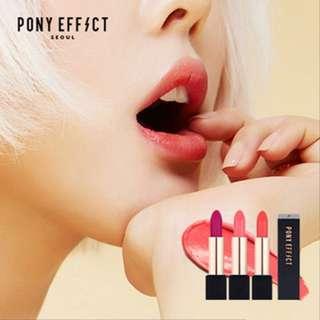 ✨INSTOCK! Pony Effect Outfit Velvet Lipstick