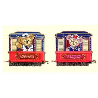 迪士尼 Disney 火車  徽章 Pin : Duffy / Shelliemay