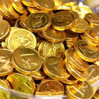 🚚 小金幣巧克力 300克