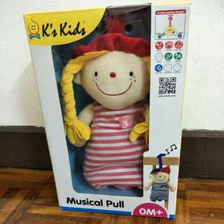 K Kids Musical Doll (For Stroller & Cot)