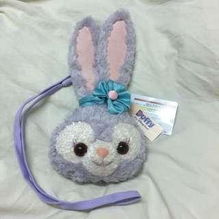 日本迪士尼海洋限定達菲與好友StellaLou史黛拉兔票卡/票夾/零錢包正品