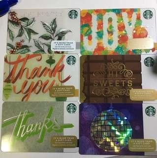 Starbucks card(美國卡)