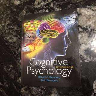 PSY270-COGNITIVE PSYCHOLOGY TEXTBOOK