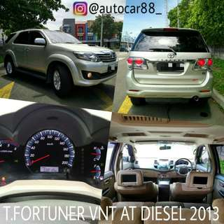 Toyota Fortuner G VNT AT Diesel 2013