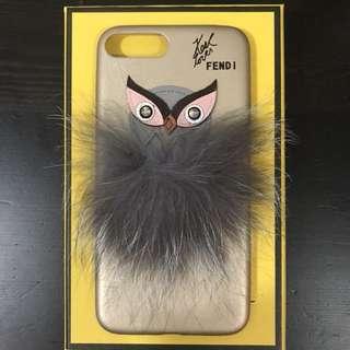Fendi gold owl iPhone 7plus case
