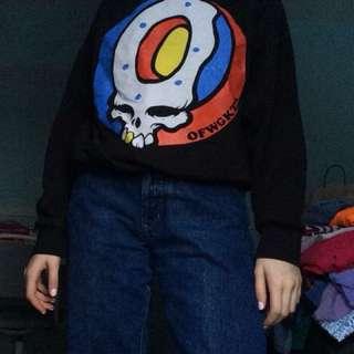 Odd Future Merch Sweater Black OFWGKTA