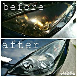 Headlamp refubished