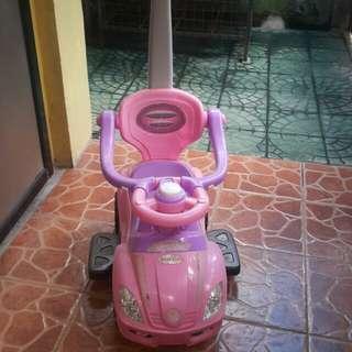 Car stroller for baby girl