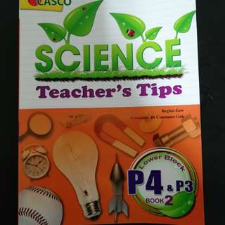 P4 science assessment book
