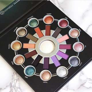 Zodiac 25 Colour Eyeshadow and Highlighter Palette By Bh Cosmetics