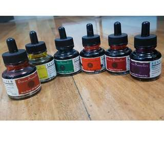 Calligraphy inks and sets