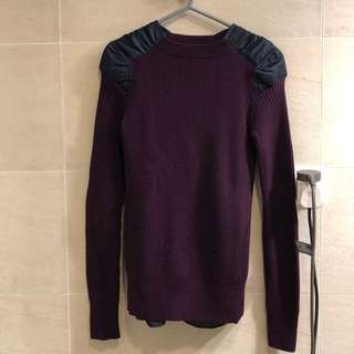Sacai size 1 (purple, very new wear less than 5 times)