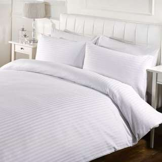 4pc Hotel Type Bedsheet set with duvet cover