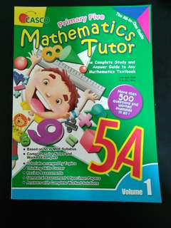 primary 5 math assessment book
