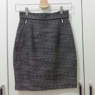 H&M mini skirt grey