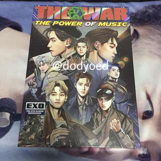 [OFFICIAL] EXO THE WAR REPACKAGED ALBUM (CHI VER)