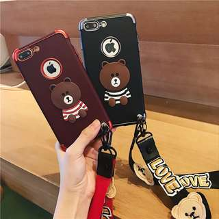 [PO] Brown iPhone Case