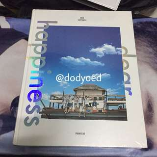 [OFFICIAL] EXO DEAR HAPPINESS PHOTOBOOK (SEALED)