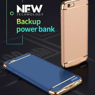 iPhone 6+/6s+/7+/8+ Battery Case, Power Up 120% 最薄電池殼 電池充電套 3,500mah power bank case