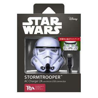 $358 美國代購 star wars 白兵 星球大戰 charger power bank 叉電器 尿袋