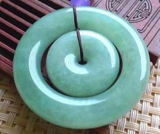 【翡翠名称】---好种果绿平安扣--
