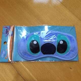 史迪仔  卡通人物 眼罩  藍色